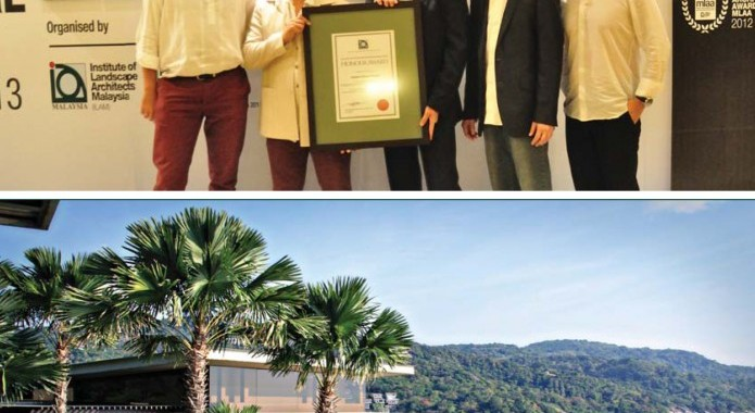 Impiana Private Villas awarded honour award by Institute of Landscape Architects Malaysia (ILAM)