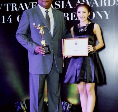 Asia's TOP Villa Resort on Now Travel Asia Awards 2014