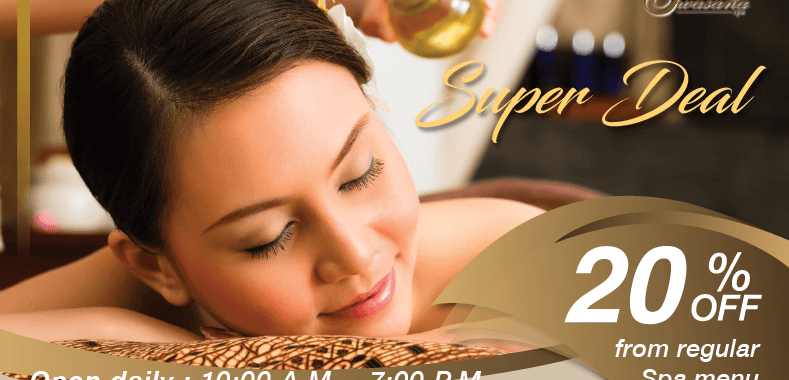 Spa promotion on March