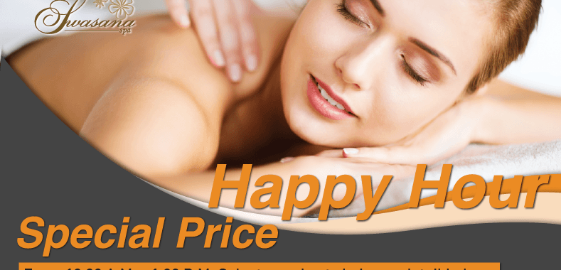 Happy Hours promotion on summer